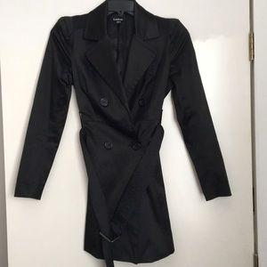 Bebe Raincoat silky